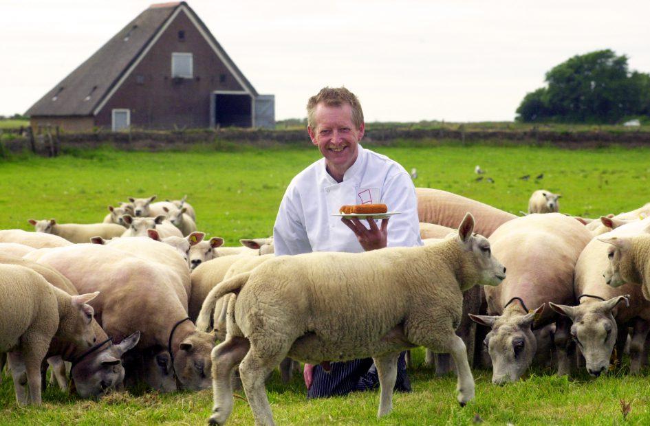Texelse lamsvleeskroket