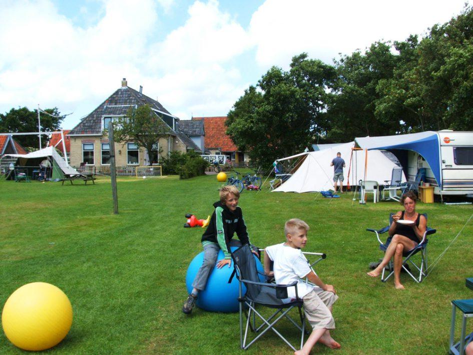 Camping en appartementen 't Wantij Terschelling