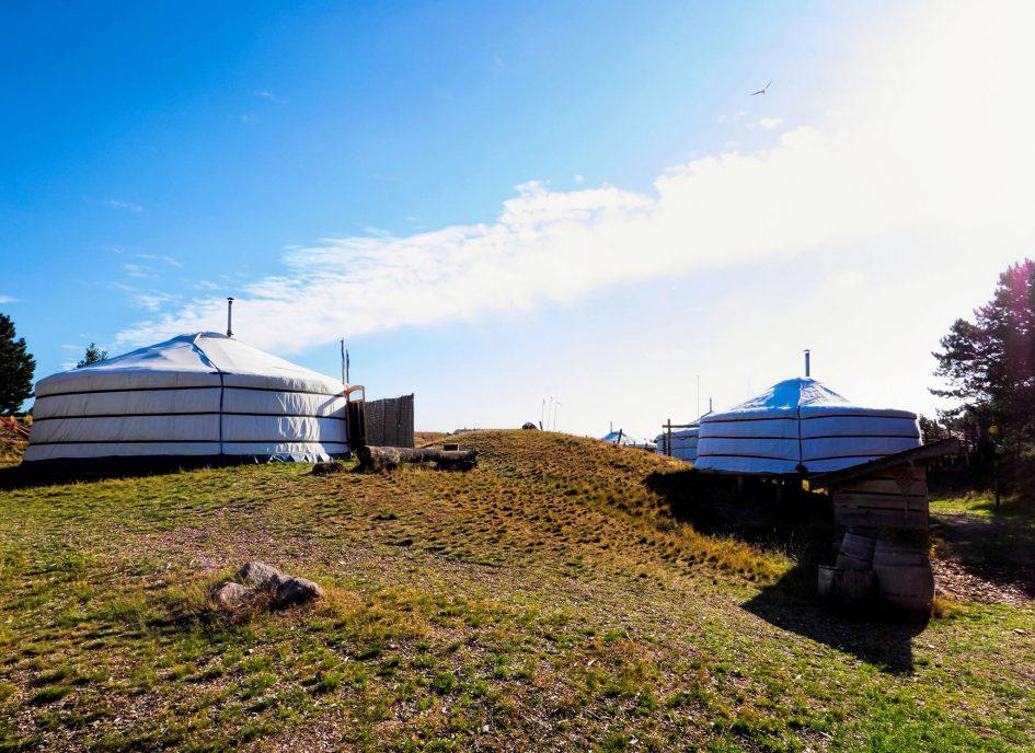 Kamperen Texel Yurts